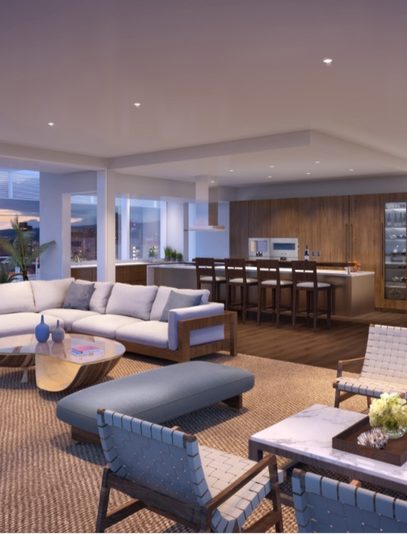 Private Residence in Gateway Tower, Honolulu