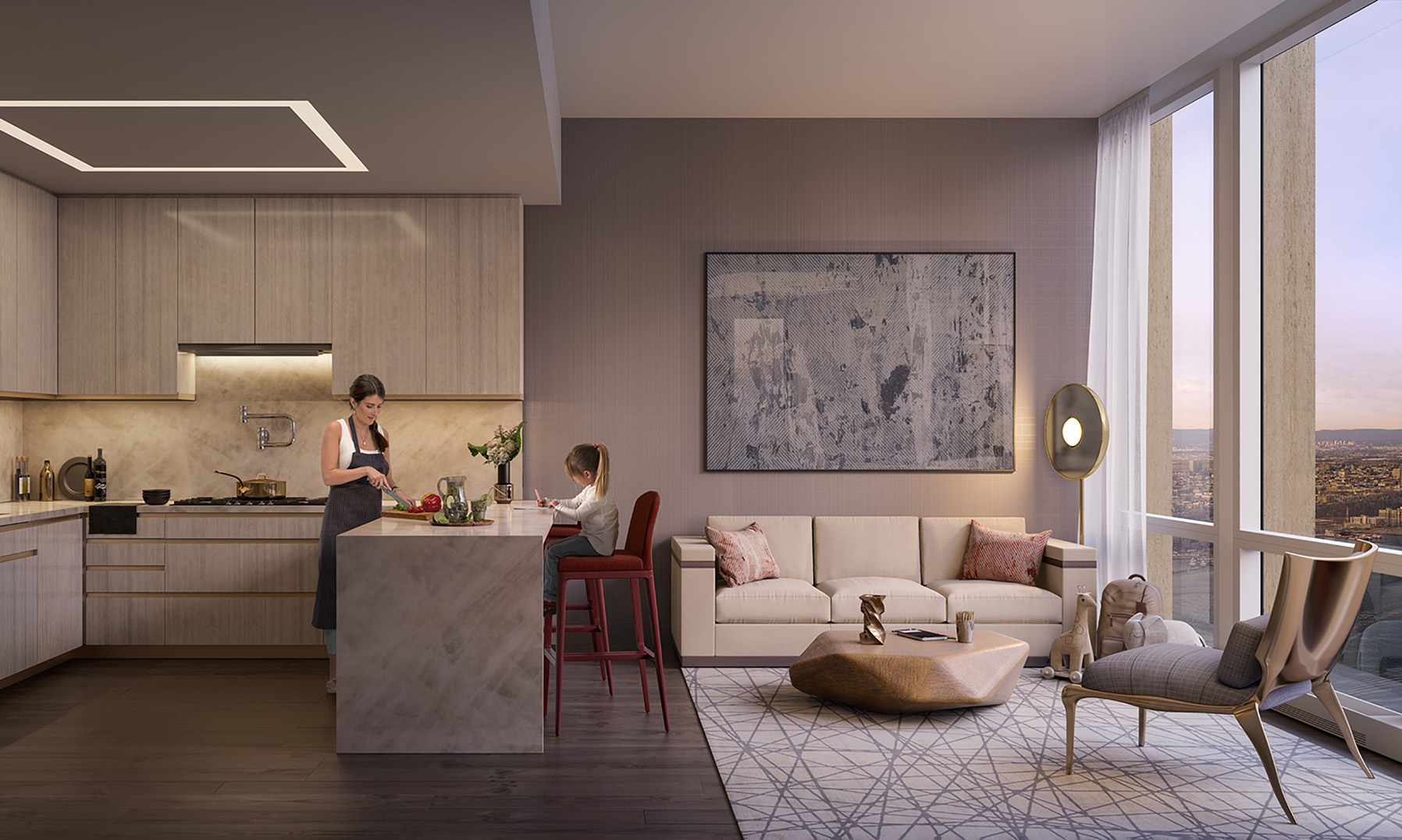 Windowed eat-in kitchen 2